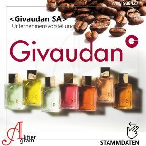 Givaudan SA Unternehmensvorstellung