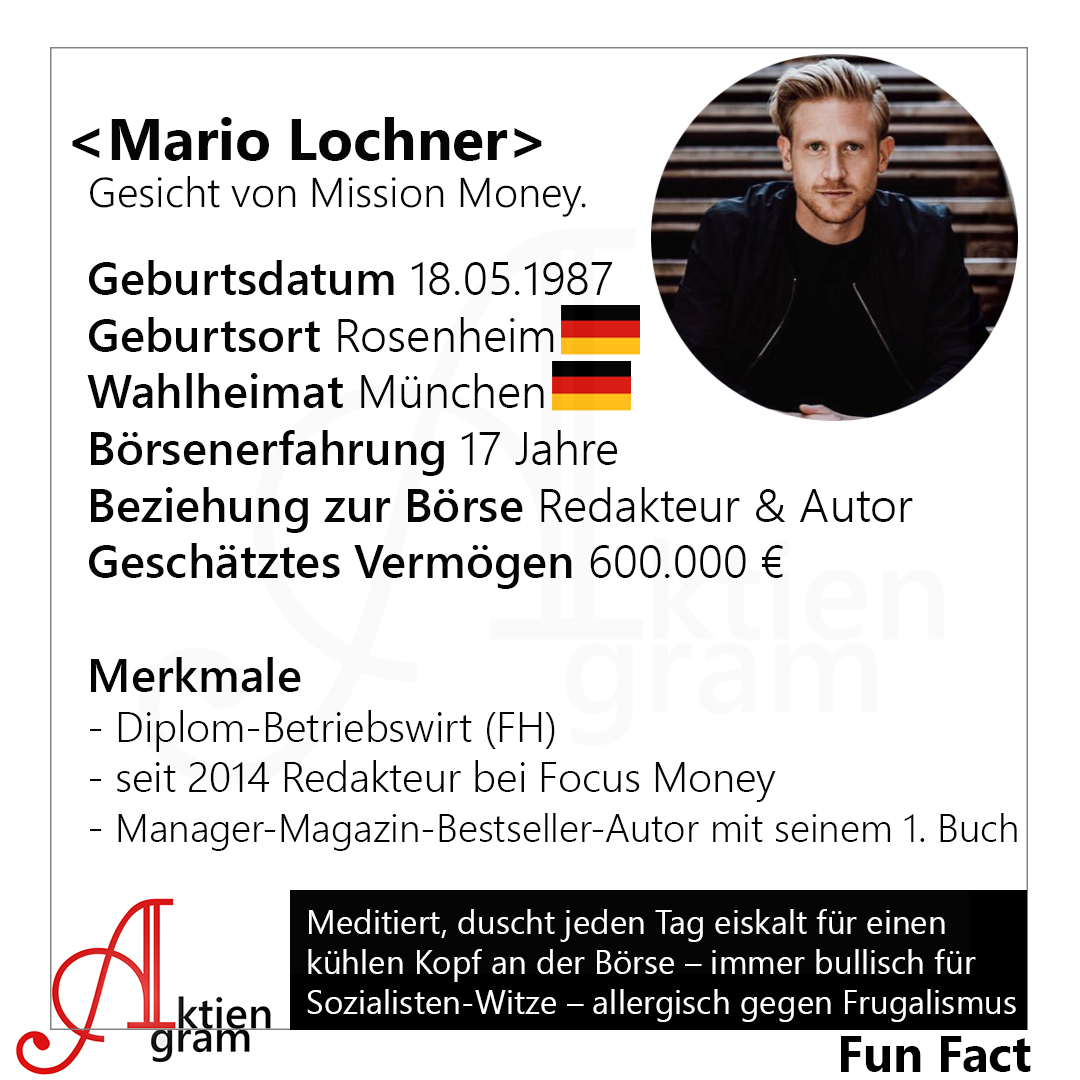 Mario Lochner im Portrait
