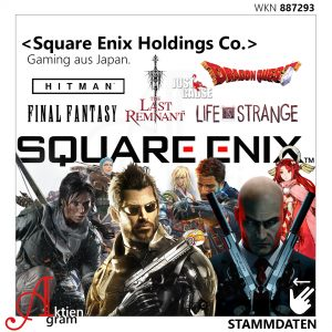 Square Enix Holdings Gaming aus Japan