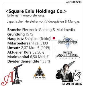 Square Enix Holdings Unternehmenvorstellung