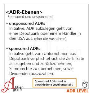 ADR, ADS, GDR einfach erklärt