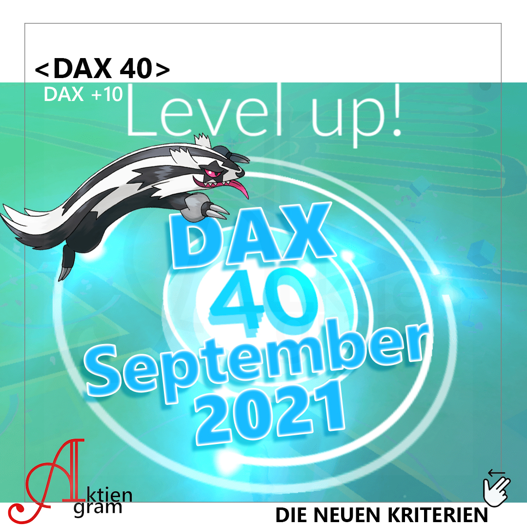 Der neue DAX 40 - DAX level Up