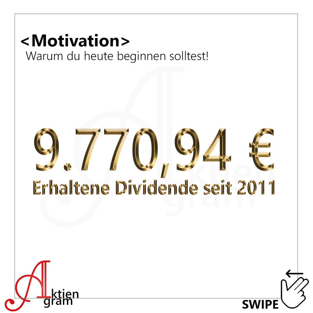 Motivation - Beginne mit Aktien