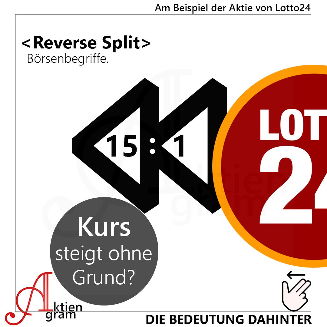 Reverse Split Beispiel Lotto AG