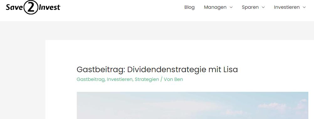 Dividendenstrategie_Lisa