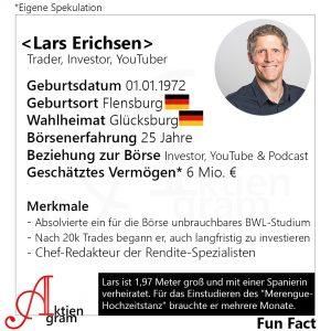Lars Erichsen, Trader, Investor, YouTuber