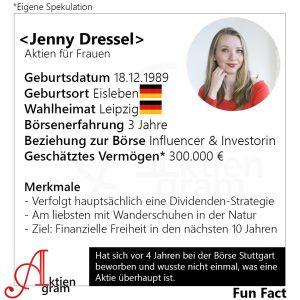 Jenny Dressel Aktien für Frauen