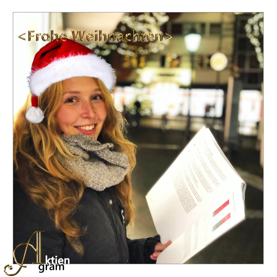 Aktiengram wünscht frohe Weihnachten