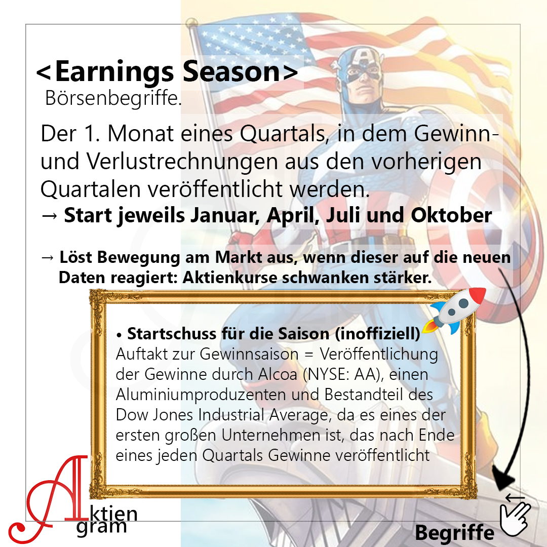 Was bedeutet Earnings Season