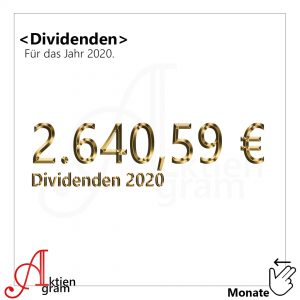 Aktiengram Dividenden 2020