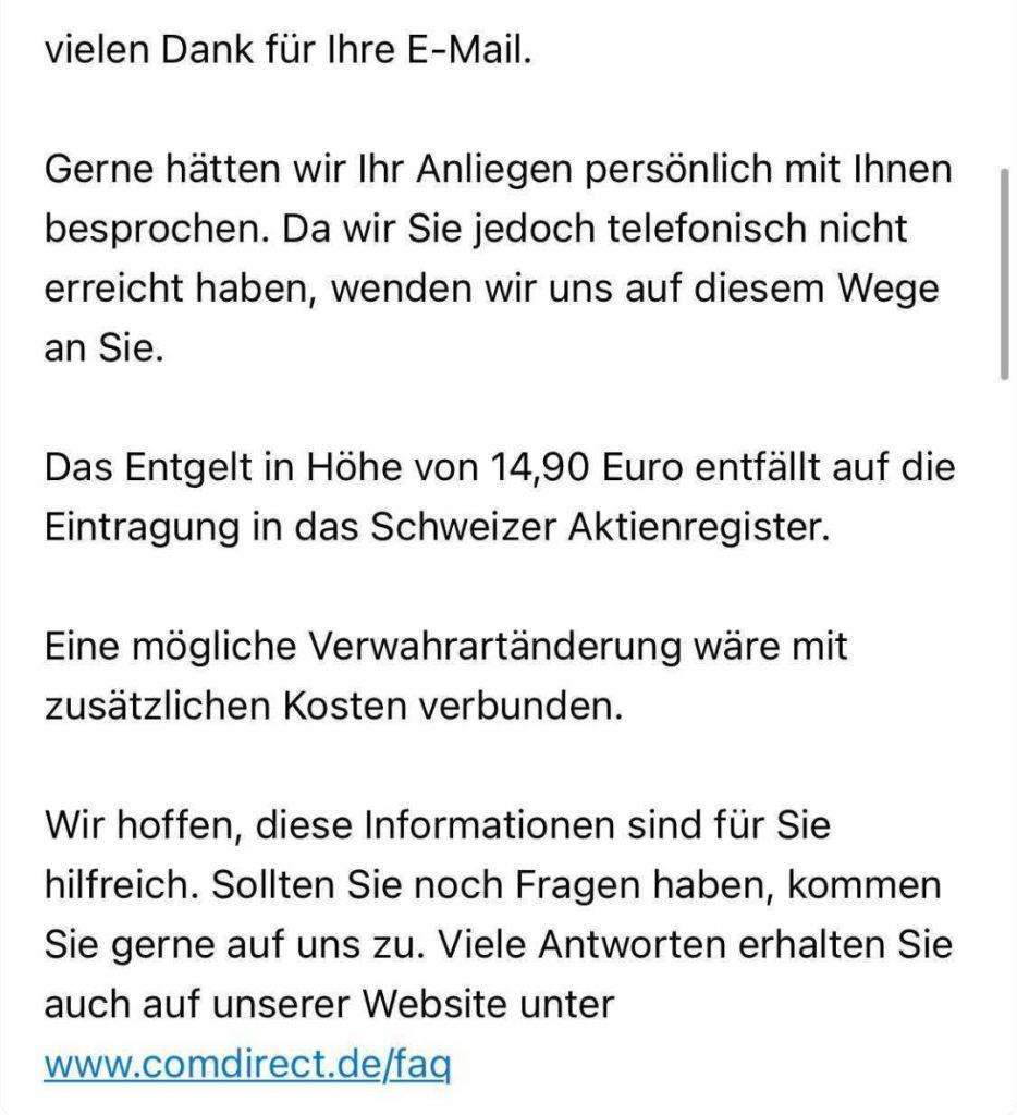 Schweizer Aktienregister