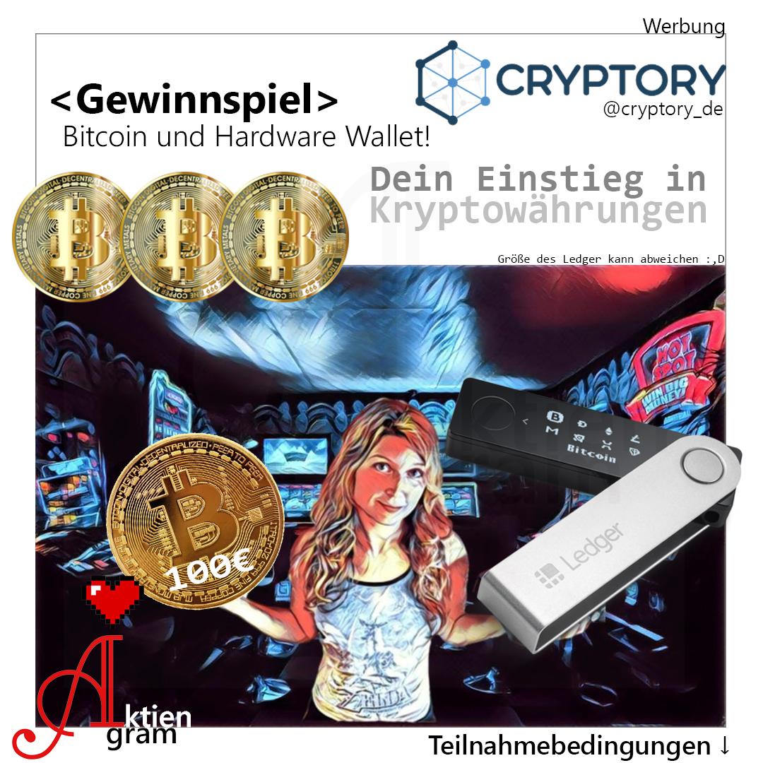 Bitcoin Gewinnspiel