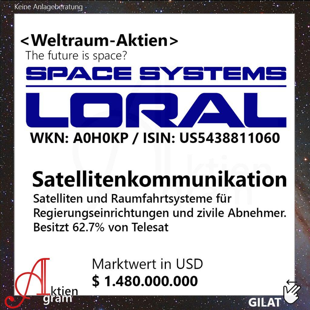 Weltraum Aktien