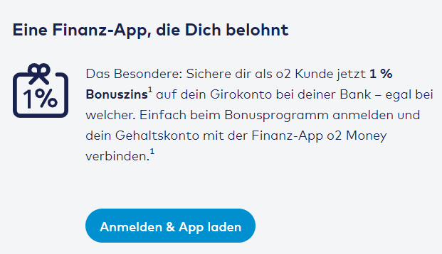 O2 Money FInanz App