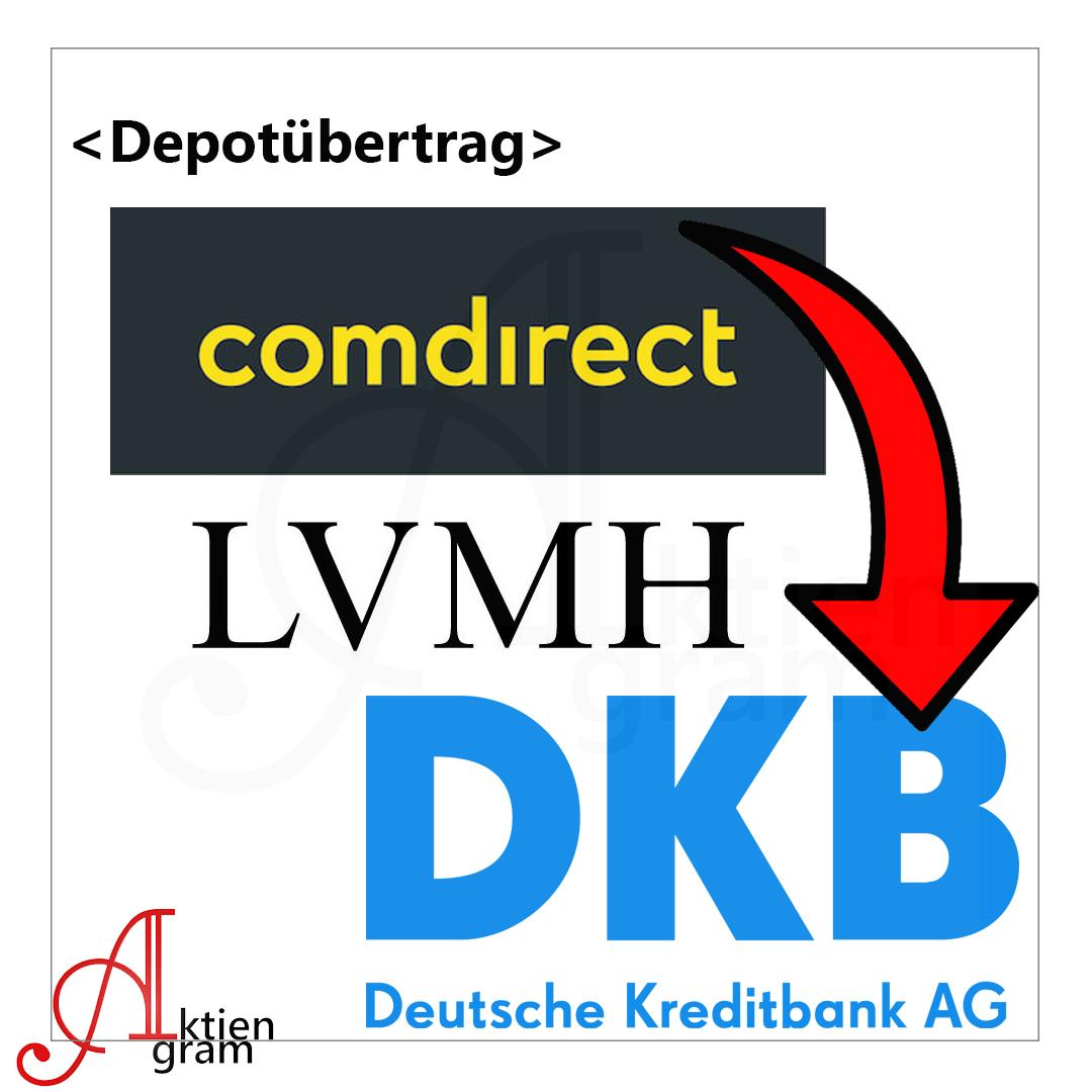 Depotuebertrag LVMH zu DKB