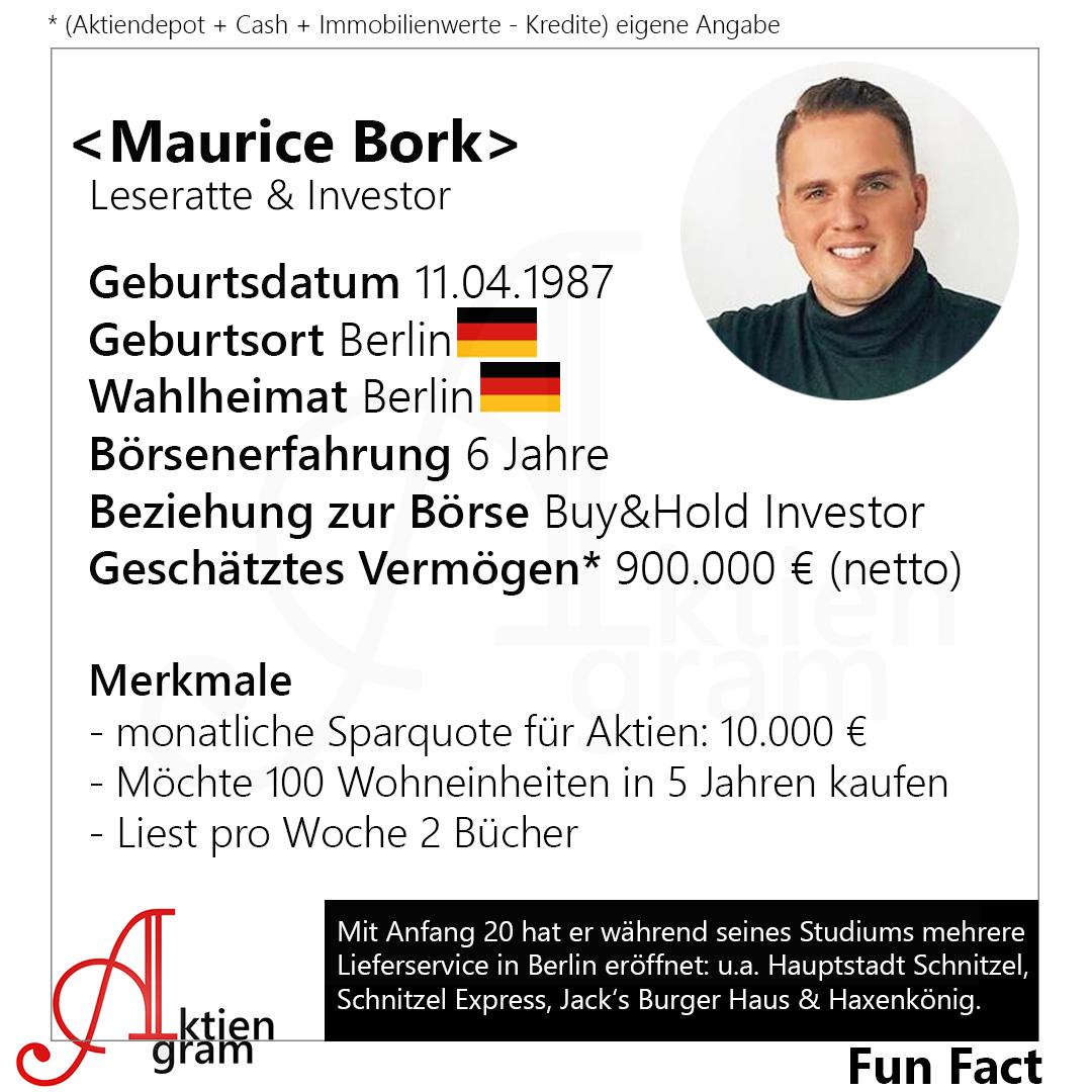 Maurice Bork - Leseratte & Investor