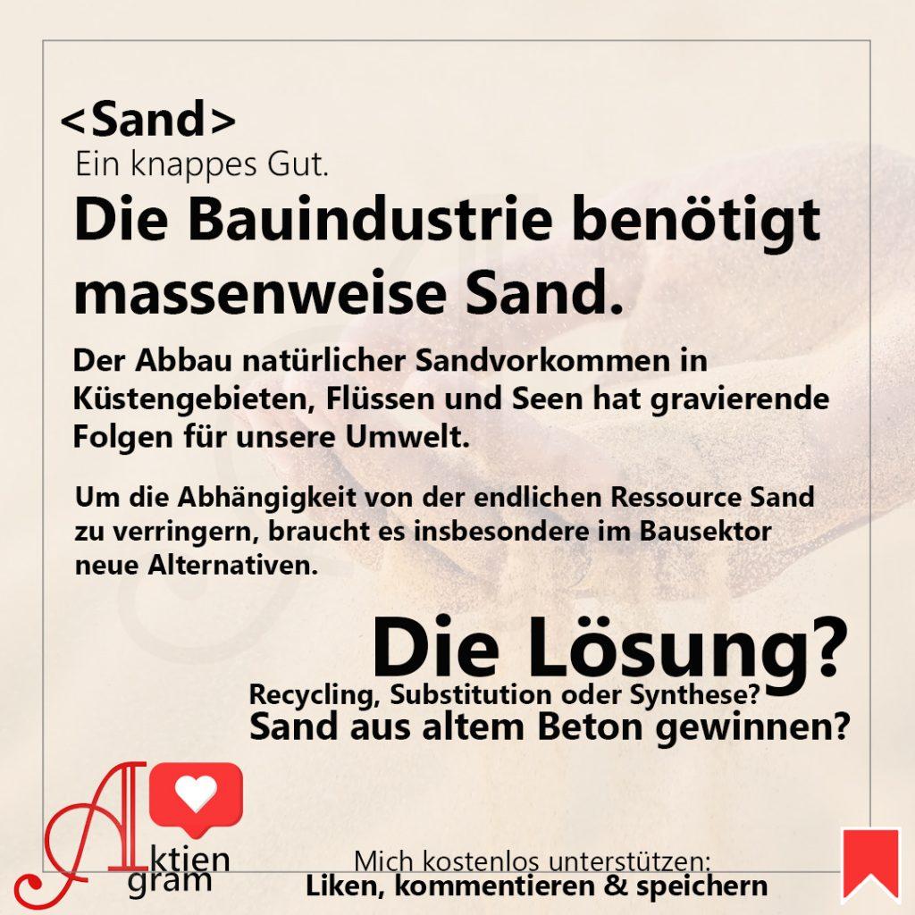 Sand Aktien