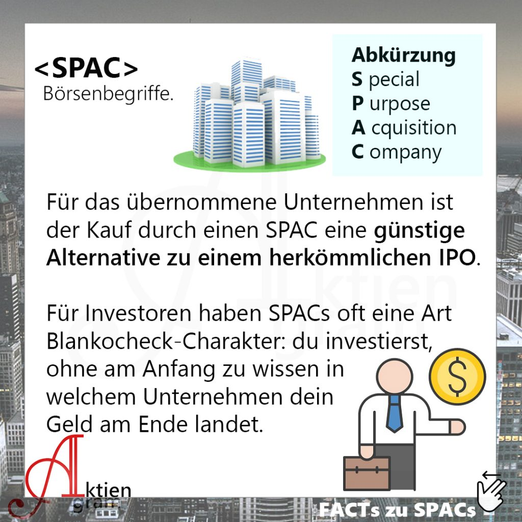 SPAC Mantelgesellschaft Börse