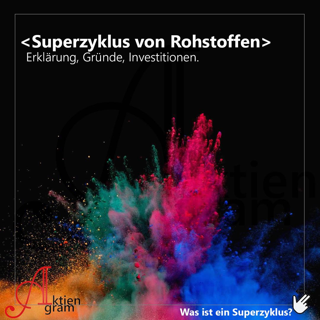 Superzyklus von Rohstoffen