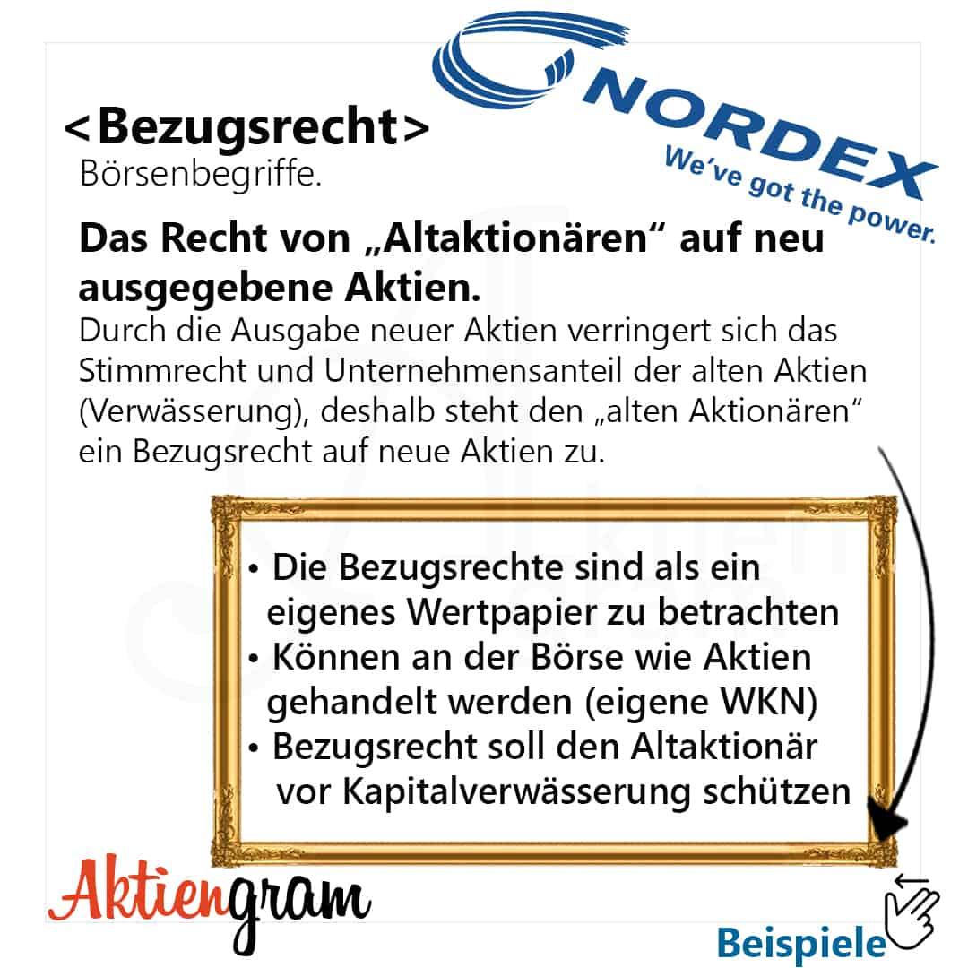 Kapitalerhöhung Bezugsrechte Nordex