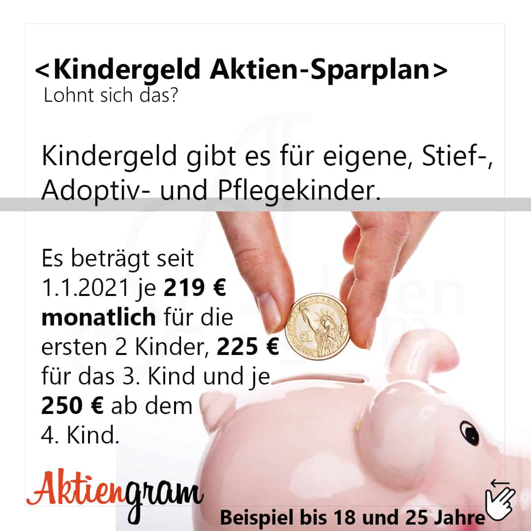 Kindergeld-Aktien-Sparplan