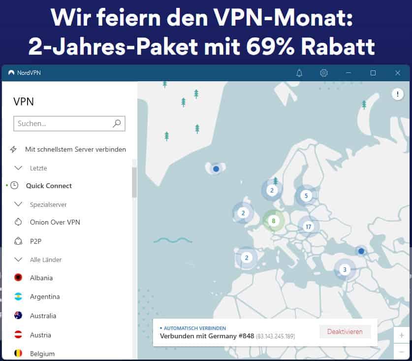 Nord VPN windows